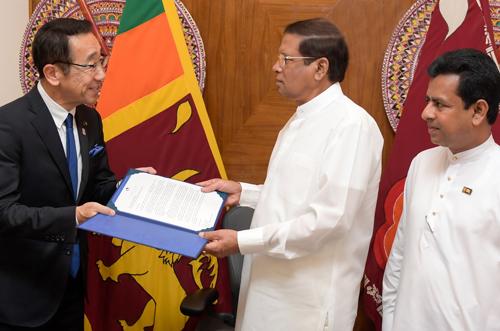 スリランカ大統領